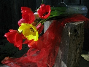 composition, Tulips, bouquet