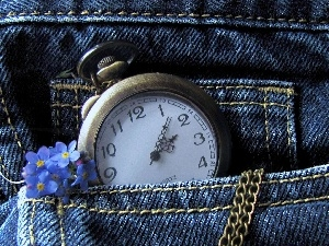jeans, Watch, Forget, pocket